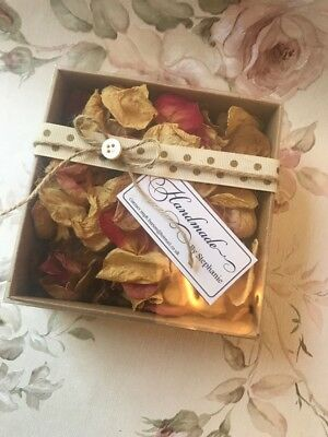 Rose Petals Dried Fragrant Pot Pourri Boxed 10g Ideal Gift Perfumed Bridal