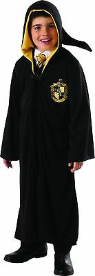 Harry Potter Hufflepuff Child Hooded Robe Clasp Costume Cape Cloak Licensed