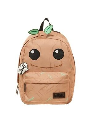 GOTG Marvel Guardians of the Galaxy Vol. 2 Big Face Groot Backpack School Bag