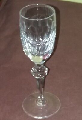 Waterford Crystal ~ Curraghmore Design ~  Liquer Glass ~