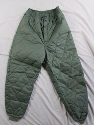 Vtg NOS 60s 1964 CWU-9/P Quilted Pants Sz Medium US Air Force Military Issue