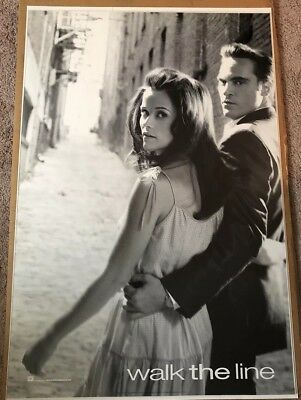 WALK THE LINE ORIGINAL 1 SHEET POSTER 2005 Reese Witherspoon / Joaquin Phoenix
