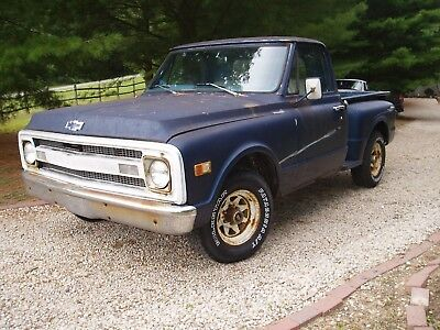 1967 Chevrolet C-10 c10 1967 Chevy pickup short bed step side