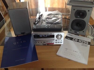 TEAC  CR-H255 CD/Receiver with speakers