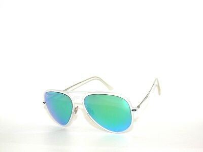 9bf6520a30 Ray Ban Rb4211 Matte Clear Green Mirror 646 3R Sunglasses Rayban  light Ray