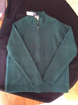 NWT Ladies Cherokee jacket, Size L, color Green Marker