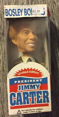 Jimmy Carter bobble head, Bosley limited edition, new, (BH)