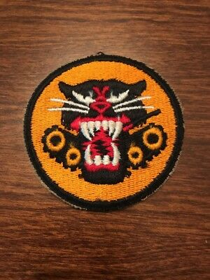 WW2 U.S. Army Tank Destroyer Patch- Original Cut Edge