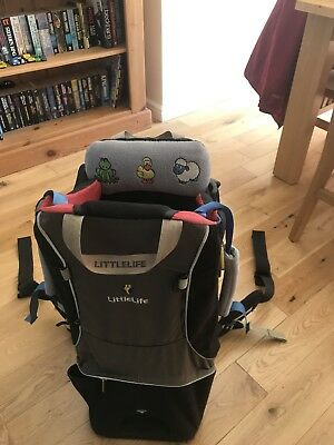 2e1c7355733 LITTLELIFE CROSS COUNTRY S2 baby child carrier backpack rucksack *VGC* -  EUR 45,80 | PicClick FR
