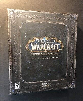 World of Warcraft Battle for Azeroth [ Collector's Edition ] (PC) NEW