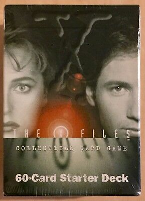 The X-Files Collectable Card Game 60 Card Starter Deck Factory Sealed NM