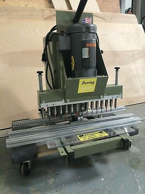 Conquest Mini 13 Spindle Line Borer