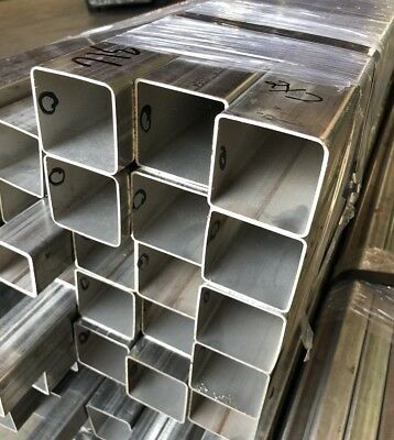 """316-L Stainless Steel Square Tube - 2"""" x 2"""" x 48"""" Length x .060"""" Wall"""