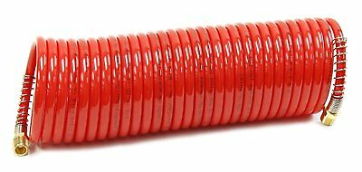 Snap-On Recoil Air Hose-25 Feet x 1/4 Inch Diameter (#870540)-150 psi