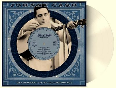"JOHNNY CASH U.S. EP Collection No. 1 - 10"" / White Vinyl - Limited 1000"