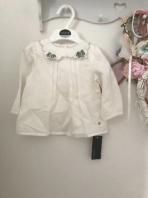 Baby girls blouse size 6-9 months BNWT