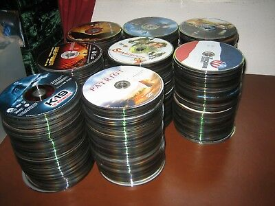 Huge Lot of 800...Good Clean ASSORTED DVD Movies-(no little kids movies) 30lbs!
