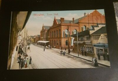 Old Shanghai.  Postcard- USA consulate general