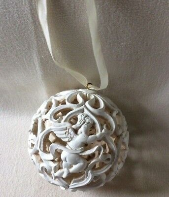 ANGELS BALL ORNAMENT Victorian Christmas Tree Ceiling Doorway