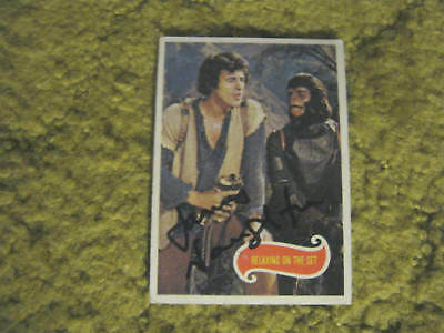 James Naughton Planet Of The Apes Tv Series Star Signed Autograph Topps Card