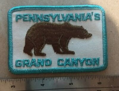 Pine Creek Gorge Pennsylvania's Grand Canyon Brown Bear Light Blue/White Mint
