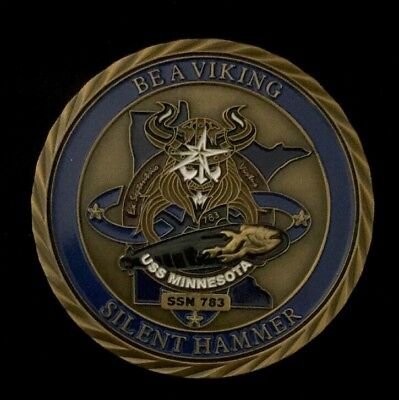 USS MINNESOTA SSN 783 NON-CPO Commanding officer Challenge Coin