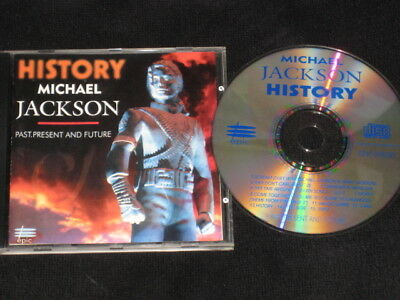 Michael Jackson History 1 Cd Promo Edition 15 Track Special Collector Series New