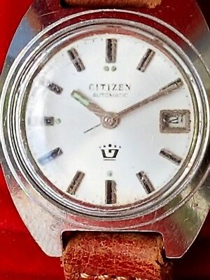 Armbanduhr citizen Automatic damen Water Resistant Stainless Steel Made in Japan