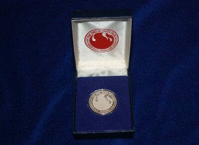 1982 Real Silver medallion World's Fair Knoxville Tn