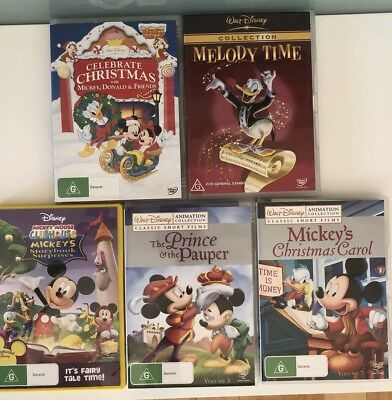 Dvd Set Of 5 Classic Walt Disney Collection