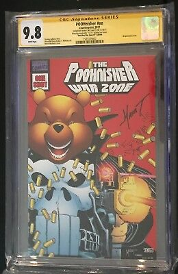 Poohnisher #nn cgc 9.8 Punisher War Zone #1 12 of 25 SS Marat Mychaels  POOH?