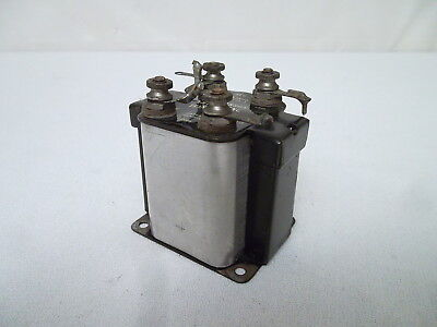THORDARSON 3 1/2 to 1 AMPLIFYING TRANSFORMER 1920's AUDIO INTERSTAGE