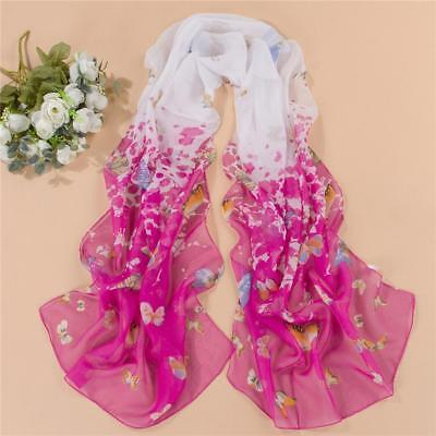Colorful fashion women wrapped in long shawl scarf