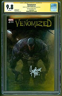 Venomized #1 (2018 Marvel) Comic Pop Variant Signed Francesco Mattina CGC 9.8
