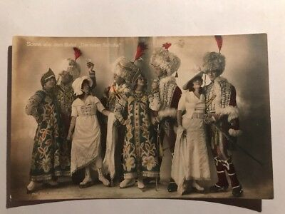 "Early RARE 1900s RPPC Ice Ballet ""The Red Shoes"" Berlin Admiralspast Theater"