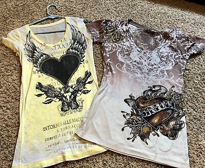 2 Women's Sinful Tops