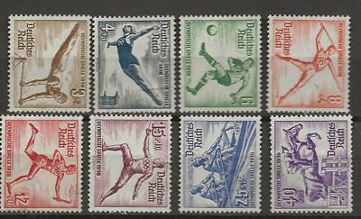 Germany Sc# B82-9 Mng Stamps