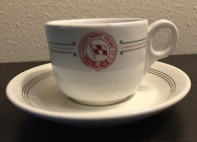 Canadian Pacific Railway Co. Cup & Saucer