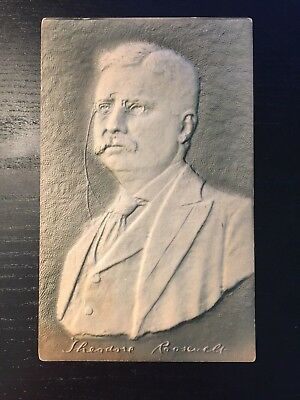 Franklin Roosevelt Heavily Embossed Postcard - The Next President of the U.S.