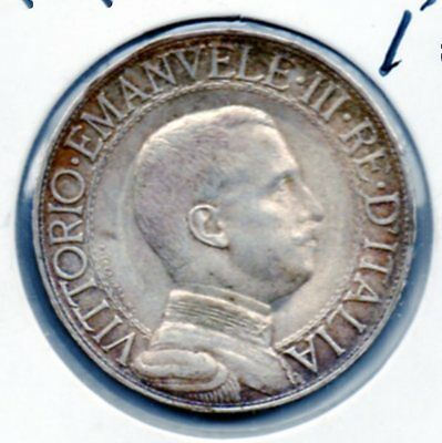 HI GRADE 1909 Italy 1L. Very nice looking coin. Includes Free shipping in US.