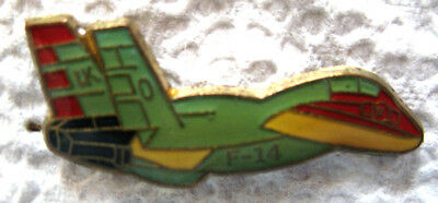 Vintage Grumman F-14 Tomcat Fighter Plane Lapel Hat Pin New Old Stock