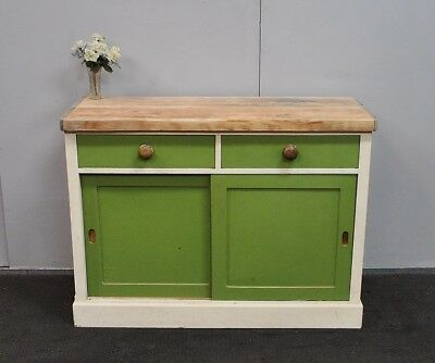 Fantastic Antique Country Style Rustic Kitchen Cabinet * Sideboard * Tv Stand