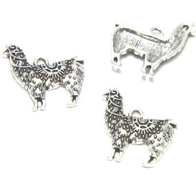 10pcs//lot giraffe Charms Antiqued silver Tone giraffe Animal pendants 15x29mm