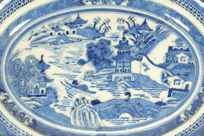 A Chinese Export Blue White Porcelain Plate.