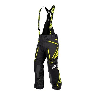 2019 Fxr Men's Renegade X Pant - Snowmobile - Black Hi-Vis