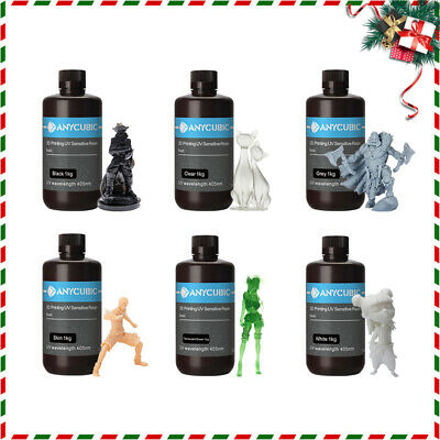 AU Stock ANYCUBIC 405nm UV Sensitive Resin Standard for DLP / Photon 3D Printer