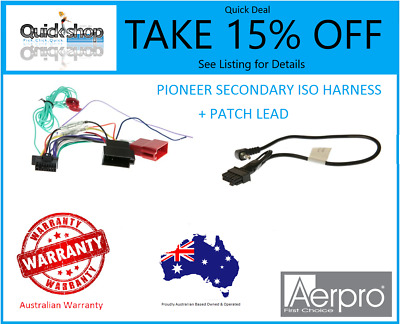 Aerpro APP9SP4 Sony to ISO Harness and Patch Lead 16 Pin Models