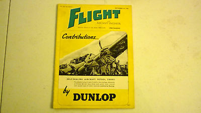 Flight & Aircraft Magazine, Sep 1945, Great Advertising, Commercial & Military 4