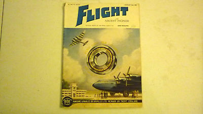Flight & Aircraft Magazine, Aug 1945, Great Advertising, Commercial & Military 4