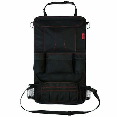 Car Back Seat Organizer with Larger Protection & Storage 12 Compartments Travel